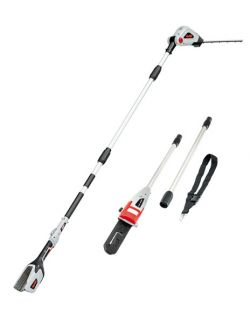 AL-KO EnergyFlex 2in1 Long Reach Hedgetrimmer and Pole Pruner Kit