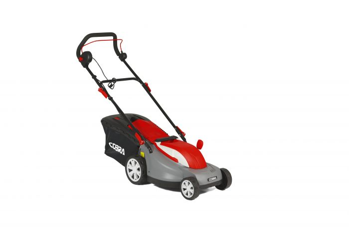 Cobra GTRM38 Electric lawnmower angle 2
