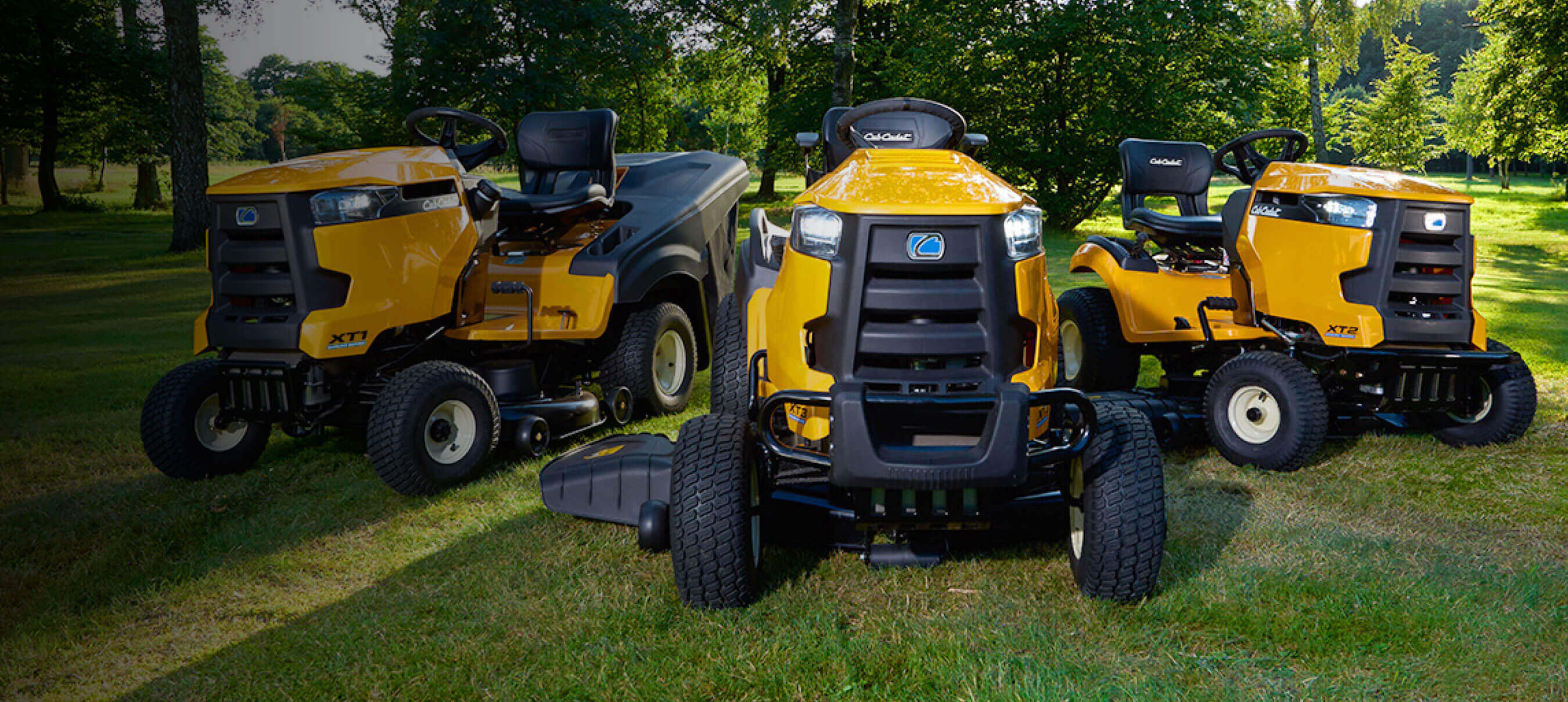 Lawn Tractors and Ride-on Mowers